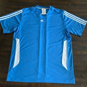 Men's Adidas Sport Clima365 Shirt in Baby Blue